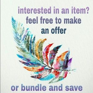 Bundle and save. Send me a offer
